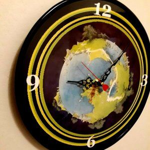 YES - FRAGILE - 12 INCH WALL CLOCK
